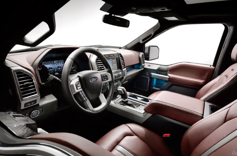 2020 Ford 150 Interior