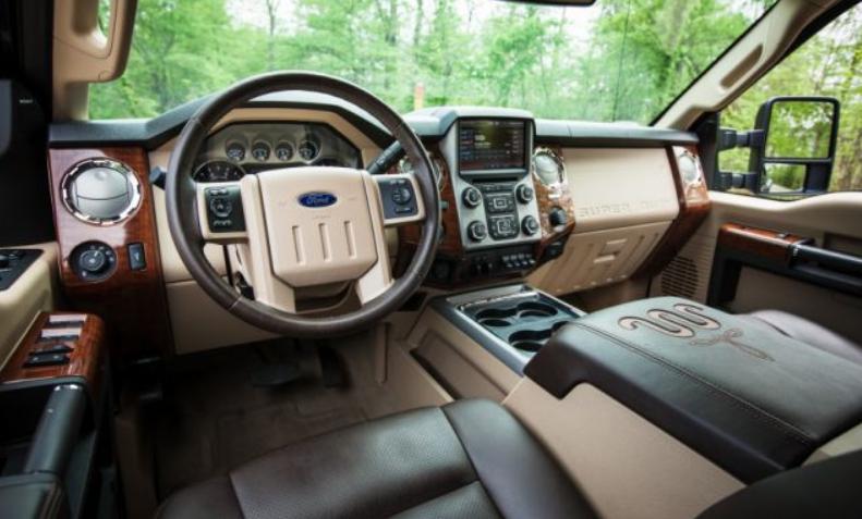 2020 Ford F350 Interior