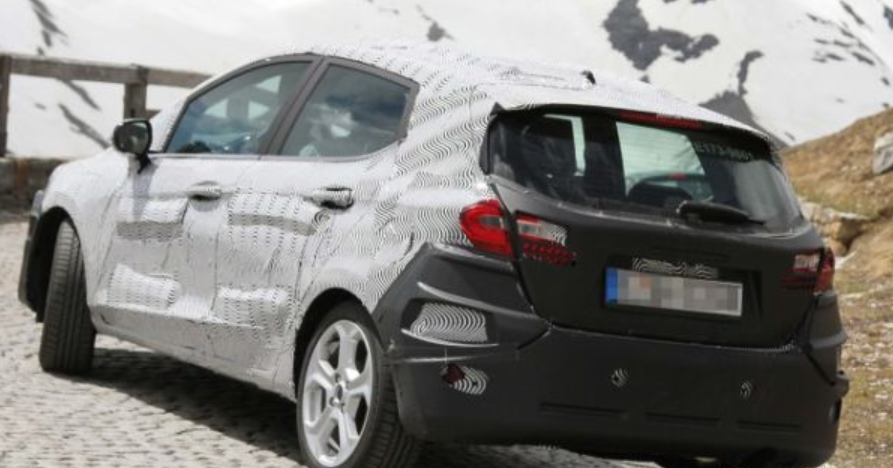 2020 Ford Fiesta Exterior