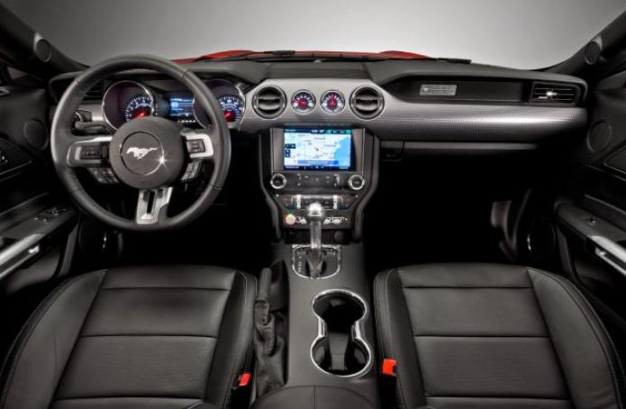 2020 Ford Mustang Hybrid Interior
