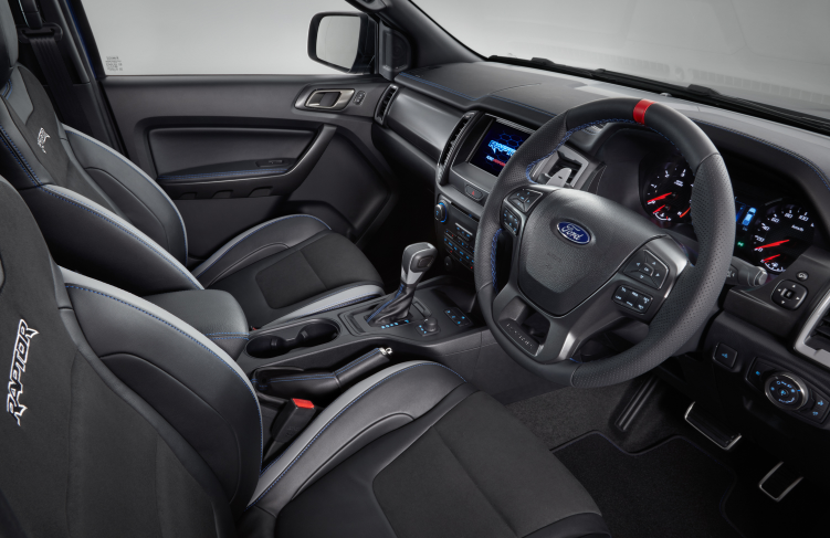 2020 Ford Ranger Raptor Interior