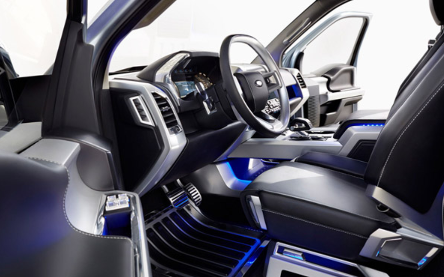 2019 Ford Atlas Interior