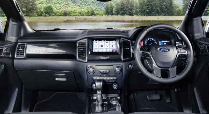 ford everest interior horsepower update
