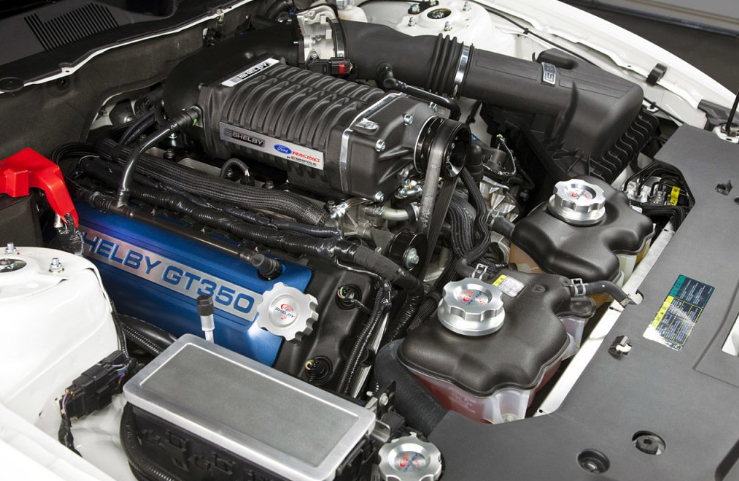 2019 Ford Mustang Gt350 Engine