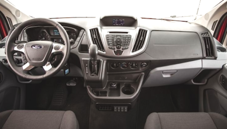 2019 Ford Transit Interior