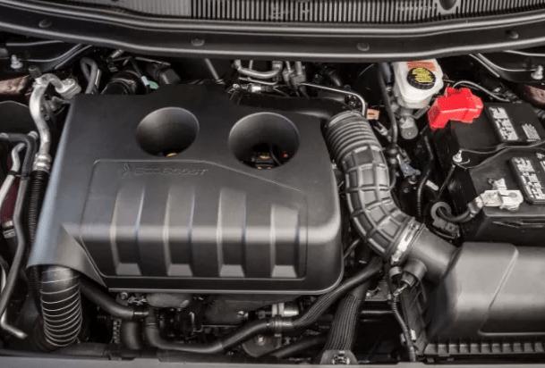 2020 Ford Explorer 4WD Engine