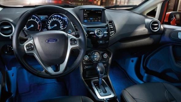 2020 Ford Fiesta Interior